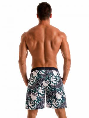 Geronimo Board Shorts, Item number: 1902p4 White Whale Surf Short, Color: White, photo 6