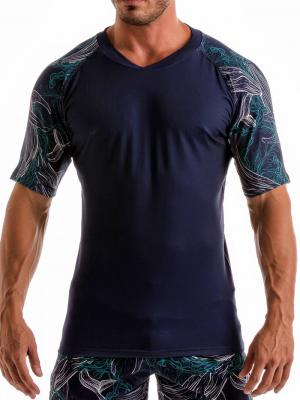 Geronimo T shirts, Item number: 1902t55 Blue Whale T-shirt, Color: Blue, photo 1