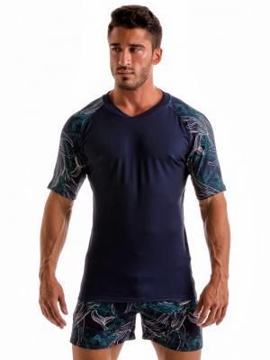 Geronimo T shirts, Item number: 1902t55 Blue Whale T-shirt, Color: Blue, photo 2