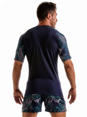 Geronimo T shirts, Item number: 1902t55 Blue Whale T-shirt, Color: Blue, photo 4