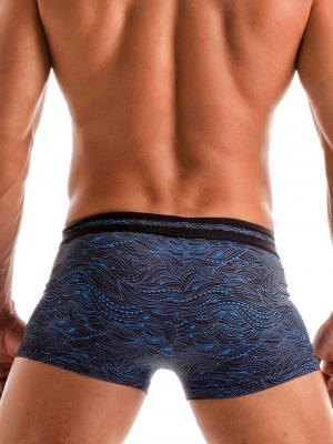 Geronimo Boxers, Item number: 1917b1 Blue Wave Swim Trunk, Color: Blue, photo 5