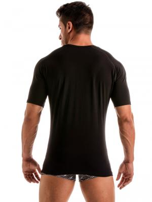 Geronimo T shirts, Item number: 1917t5 Black Wave Mens Tee, Color: Black, photo 4