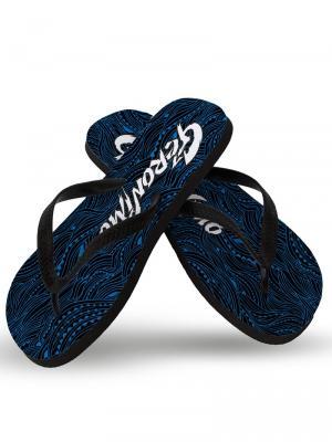 Geronimo Flip Flops, Item number: 1917f1 Blue Wave Flip Flops, Color: Blue, photo 1