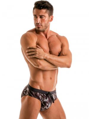 Geronimo Briefs, Item number: Black Seaweed Swim Brief, Color: Black, photo 6
