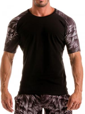 Geronimo T shirts, Item number: 1918t55 Black Seaweed Top, Color: Black, photo 1