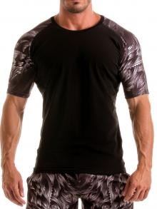 T shirts, Geronimo, Item number: 1918t55 Black Seaweed Top