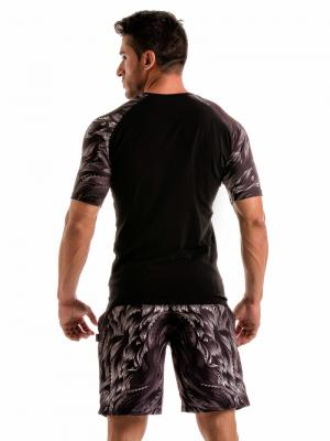 Geronimo T shirts, Item number: 1918t55 Black Seaweed Top, Color: Black, photo 5