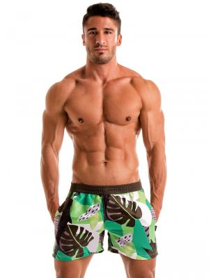 Geronimo Swim Shorts, Item number: 1905p1 Green Swim shorts, Color: Green, photo 2