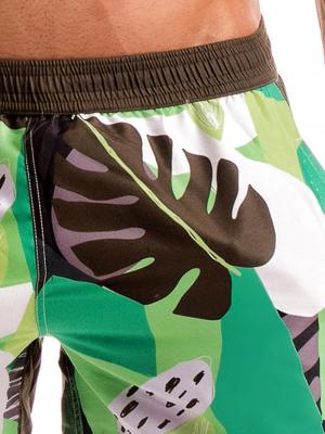 Geronimo Swim Shorts, Item number: 1905p1 Green Swim shorts, Color: Green, photo 3