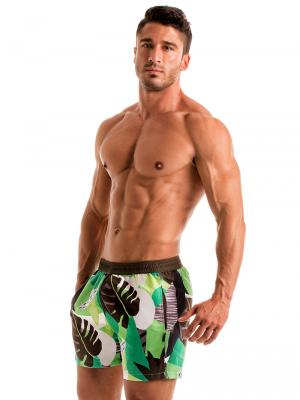 Geronimo Swim Shorts, Item number: 1905p1 Green Swim shorts, Color: Green, photo 4