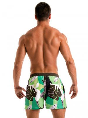 Geronimo Swim Shorts, Item number: 1905p1 Green Swim shorts, Color: Green, photo 6