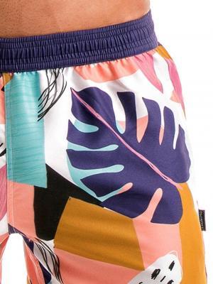 Geronimo Swim Shorts, Item number: 1905p1 Tropical Swim shorts, Color: Multi, photo 3