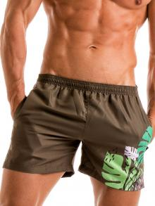 Swim Shorts, Geronimo, Item number: 1905p1 Brown Swimming shorts