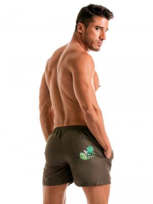 Geronimo Swim Shorts, Item number: 1905p1 Brown Swimming shorts, Color: Brown, photo 6