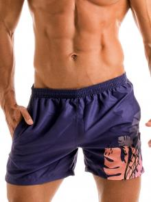 Swim Shorts, Geronimo, Item number: 1905p1 Purple Swimming shorts