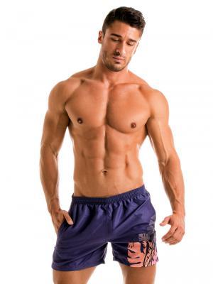 Geronimo Swim Shorts, Item number: 1905p1 Purple Swimming shorts, Color: Purple, photo 2
