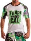 Geronimo, 1905t5 Green Tropical T-shirt
