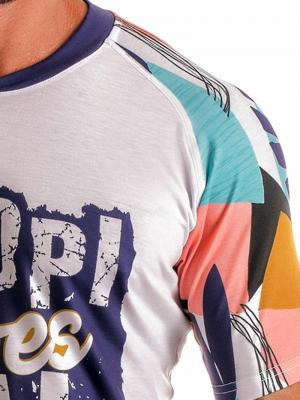 Geronimo T shirts, Item number: 1905t5 Purple Tropical T-shirt, Color: Purple, photo 3