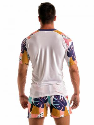 Geronimo T shirts, Item number: 1905t5 Purple Tropical T-shirt, Color: Purple, photo 5