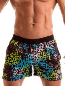 Swim Shorts, Geronimo, Item number: 1907p1 Galaxy Matrix Shorts