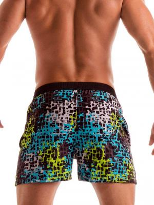 Geronimo Swim Shorts, Item number: 1907p1 Galaxy Matrix Shorts, Color: Multi, photo 4
