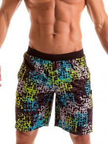 Board Shorts, Geronimo, Item number: 1907p4 Galaxy Matrix Surf Shorts