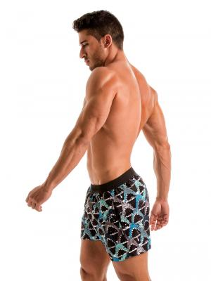 Geronimo Swim Shorts, Item number: 1909p1 Blue Shark Swim Shorts, Color: Blue, photo 4